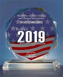 Mad Hatter receives 2019 Best of Birmingham Award